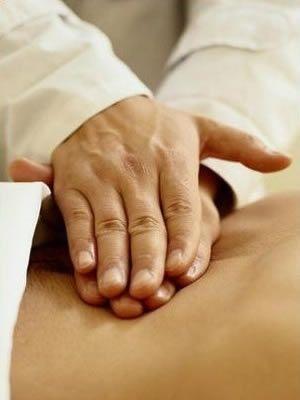 Masaż lecznicy